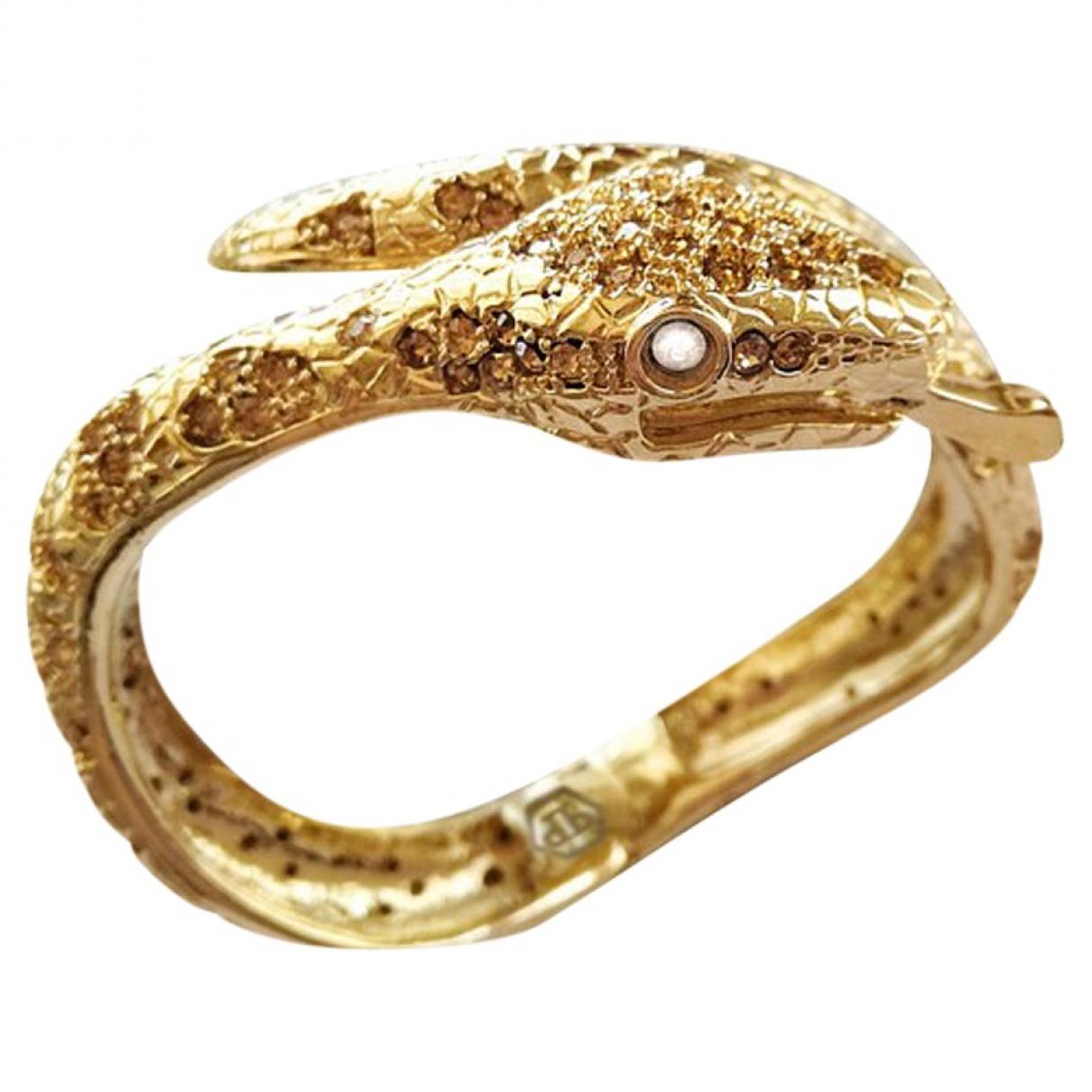Philipp Plein \N Gold Metal bracelet for Women \N