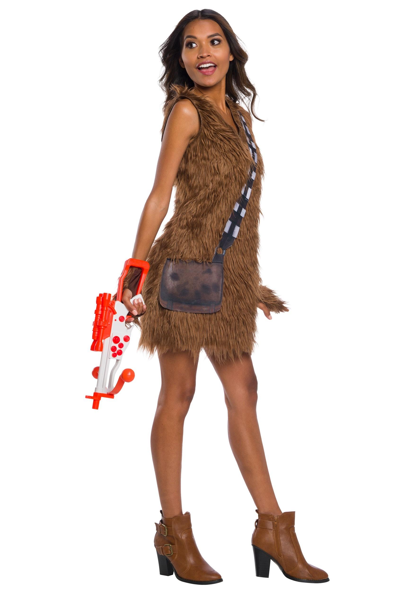 Women's Star Wars Chewbacca Dress Costume