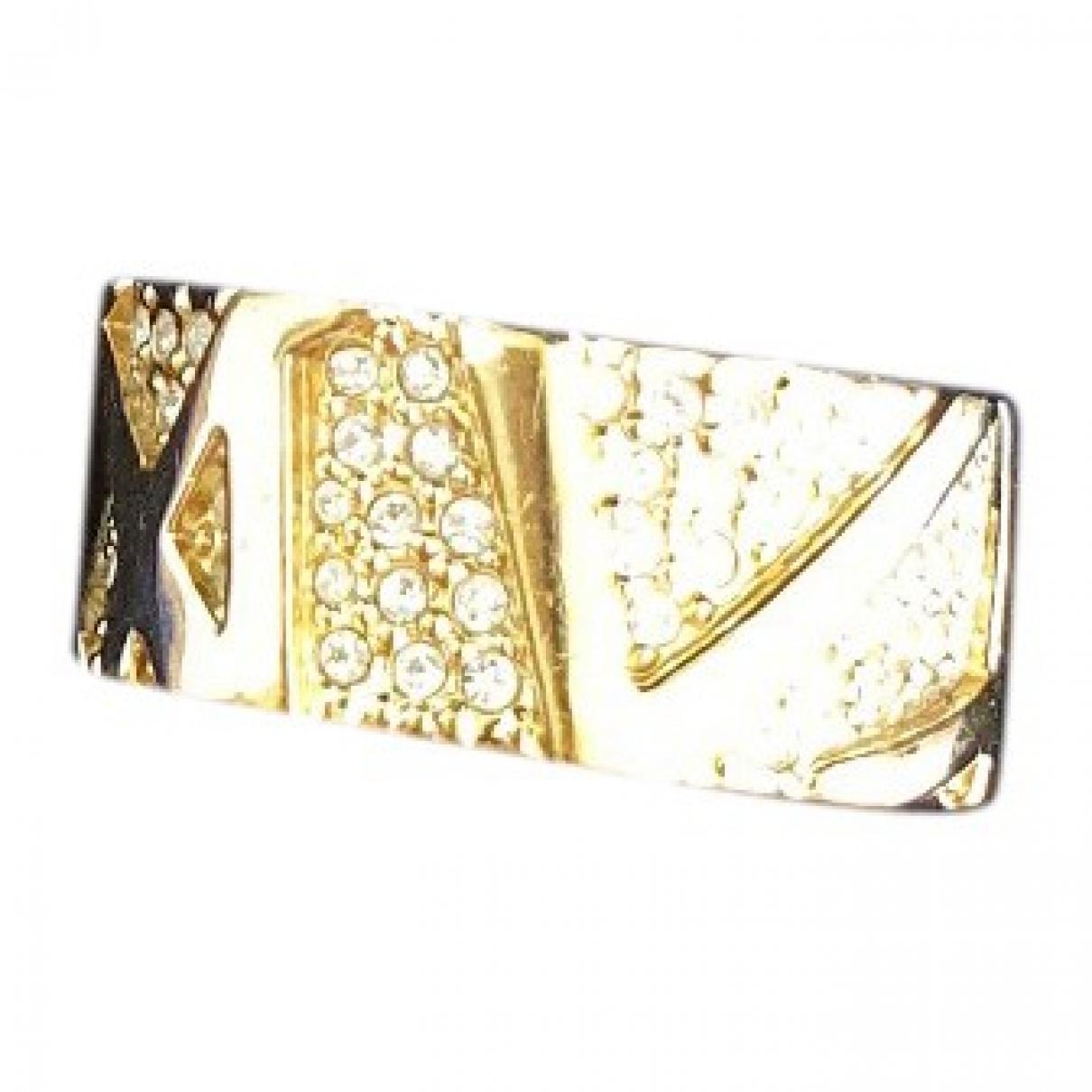 Swarovski - Bague   pour femme en plaque or - dore