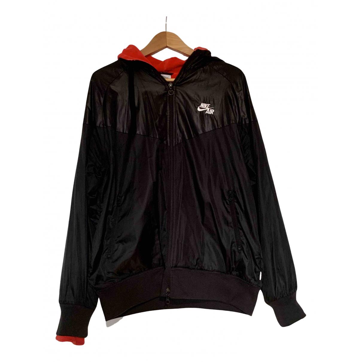 Nike \N Pullover.Westen.Sweatshirts  in  Schwarz Synthetik