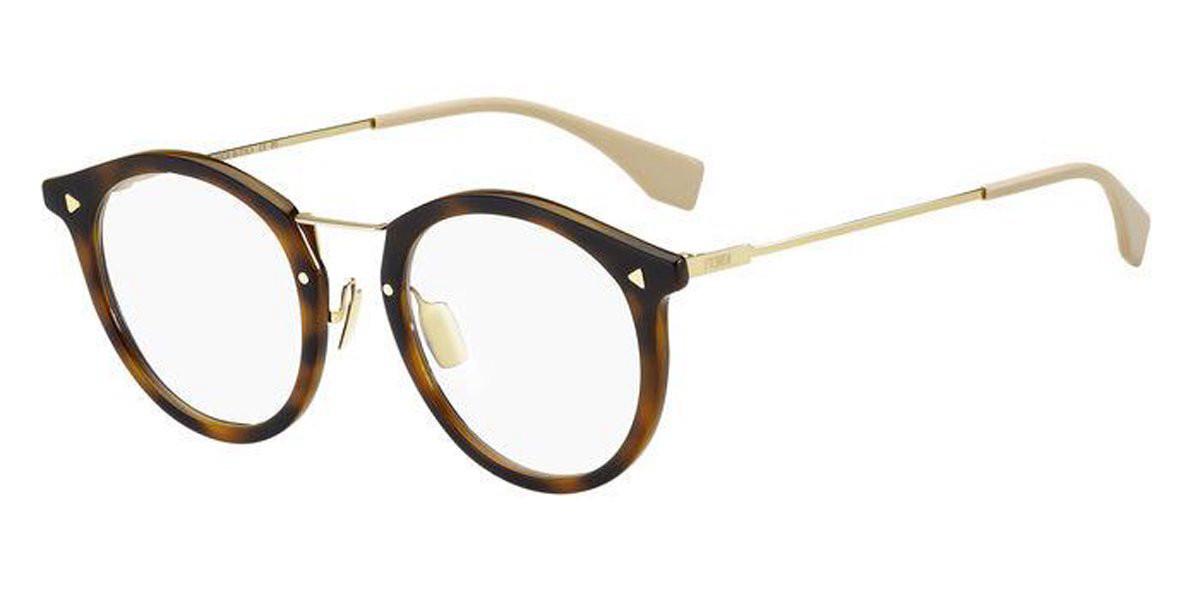 Fendi FF M0050 2IK Men's Glasses Tortoise Size 48 - Free Lenses - HSA/FSA Insurance - Blue Light Block Available