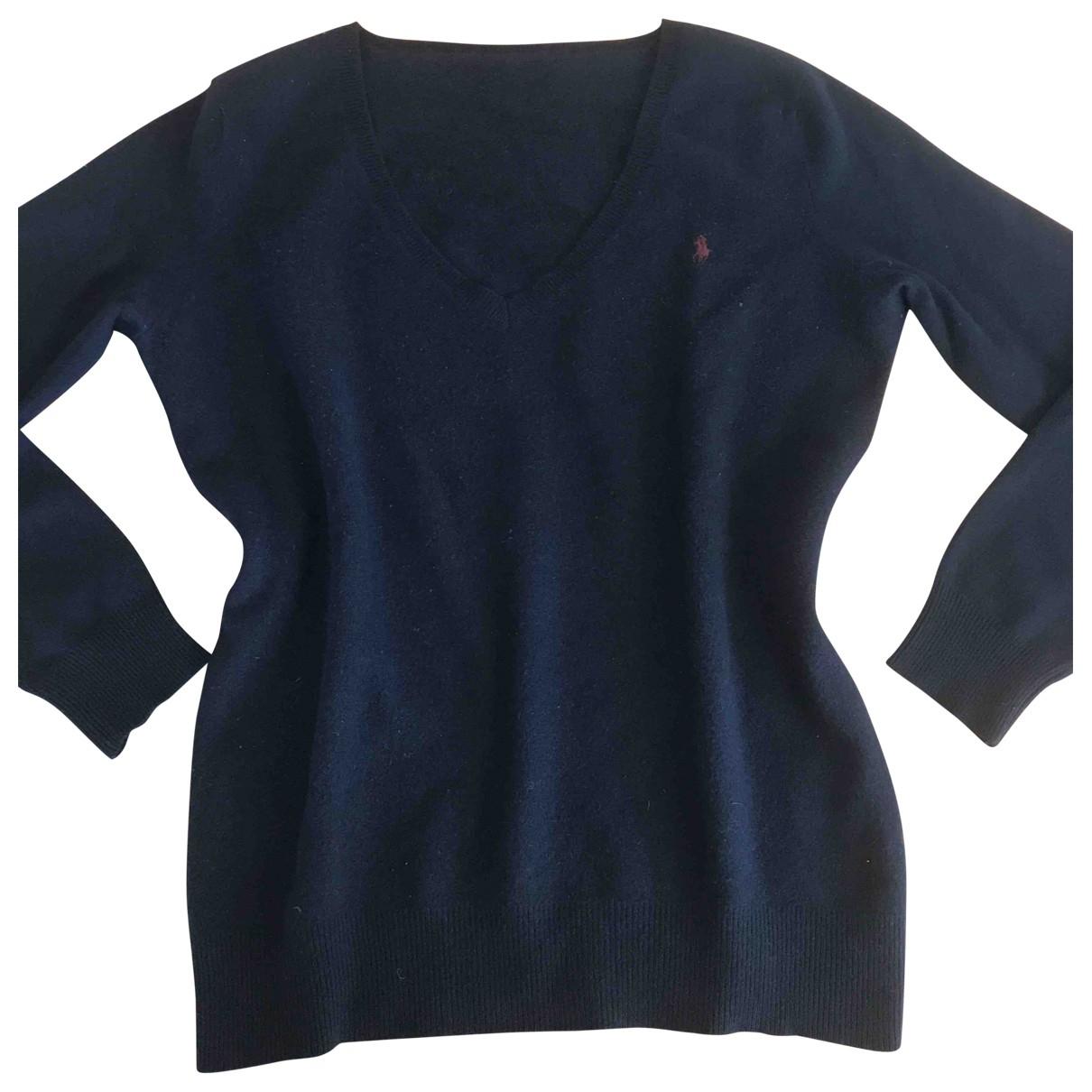 Polo Ralph Lauren \N Pullover in  Blau Wolle