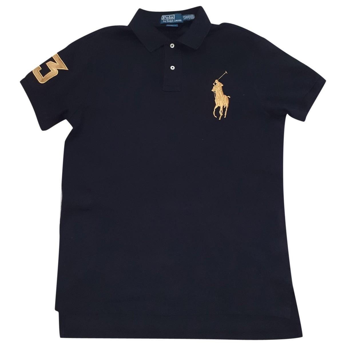 Polo Ralph Lauren \N Poloshirts in  Schwarz Baumwolle