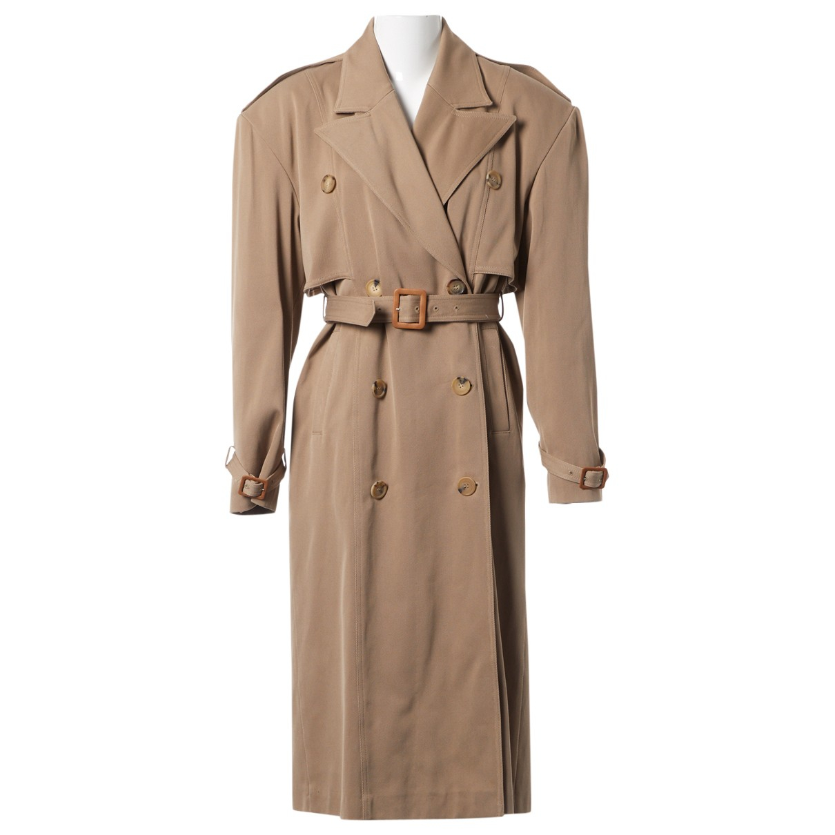 Magda Butrym \N Beige Cotton coat for Women 34 FR