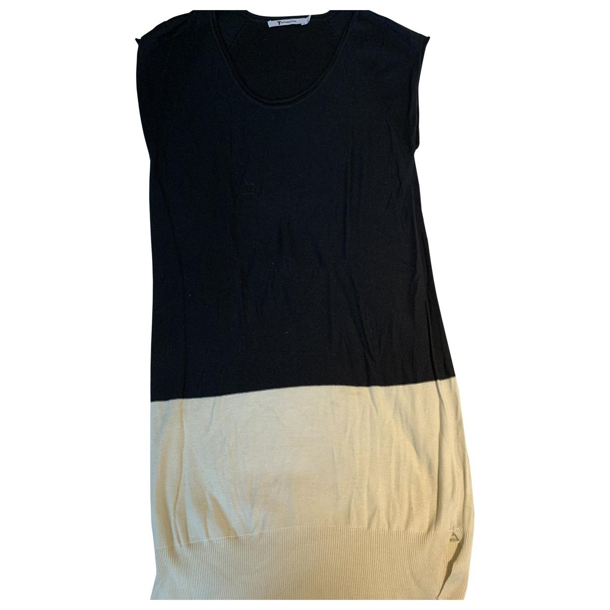 Mini vestido de Lana T By Alexander Wang