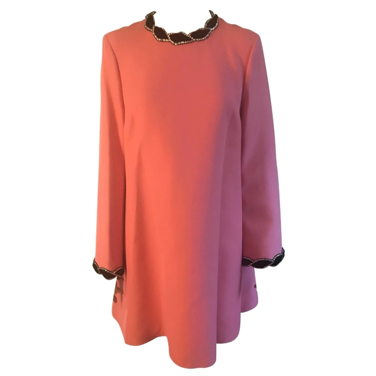 Gucci \N Pink Cotton dress for Women 40 IT