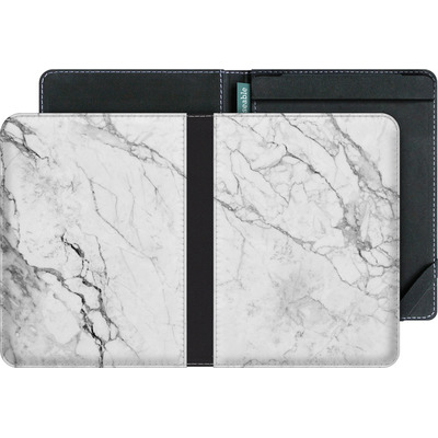 tolino vision 3 HD eBook Reader Huelle - White Marble von caseable Designs