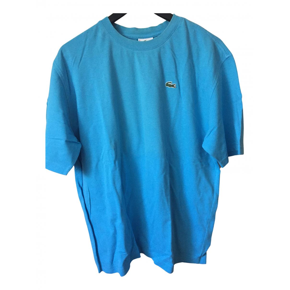 Lacoste N Blue Cotton T-shirts for Men 6 0 - 6