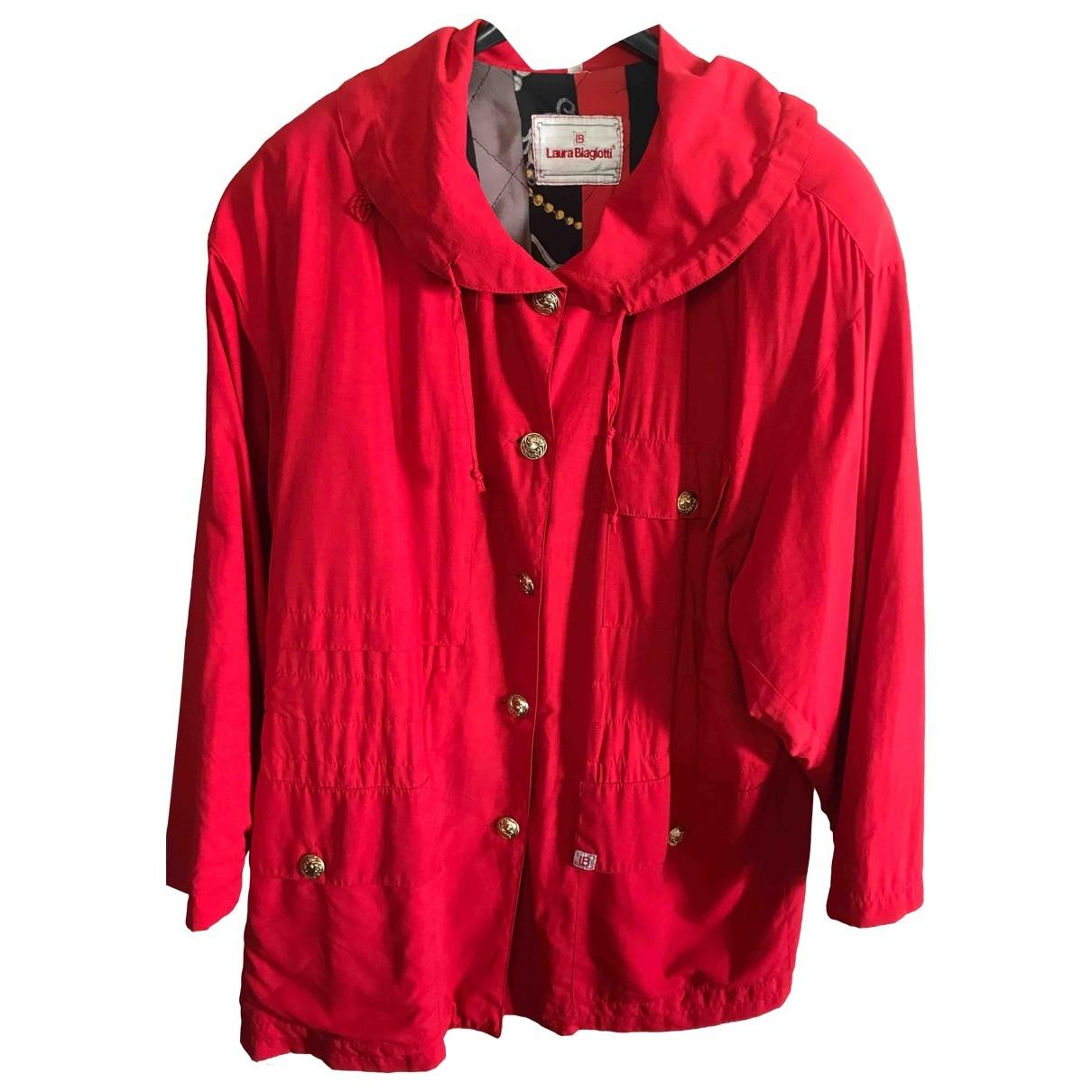 - Manteau   pour femme - rouge