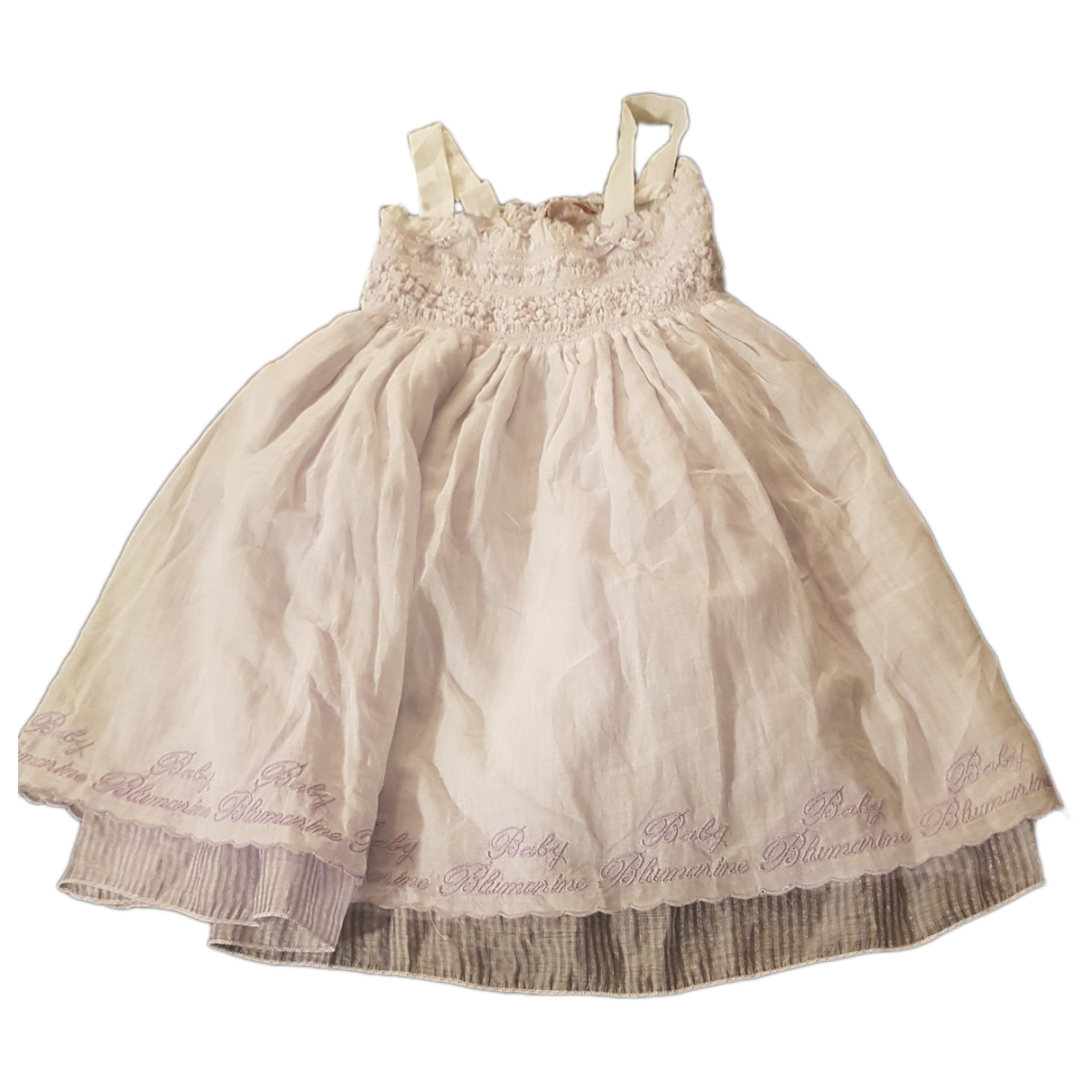 Blumarine - Robe    pour enfant - blanc