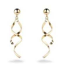 Scallop Tassel Drop Earrings