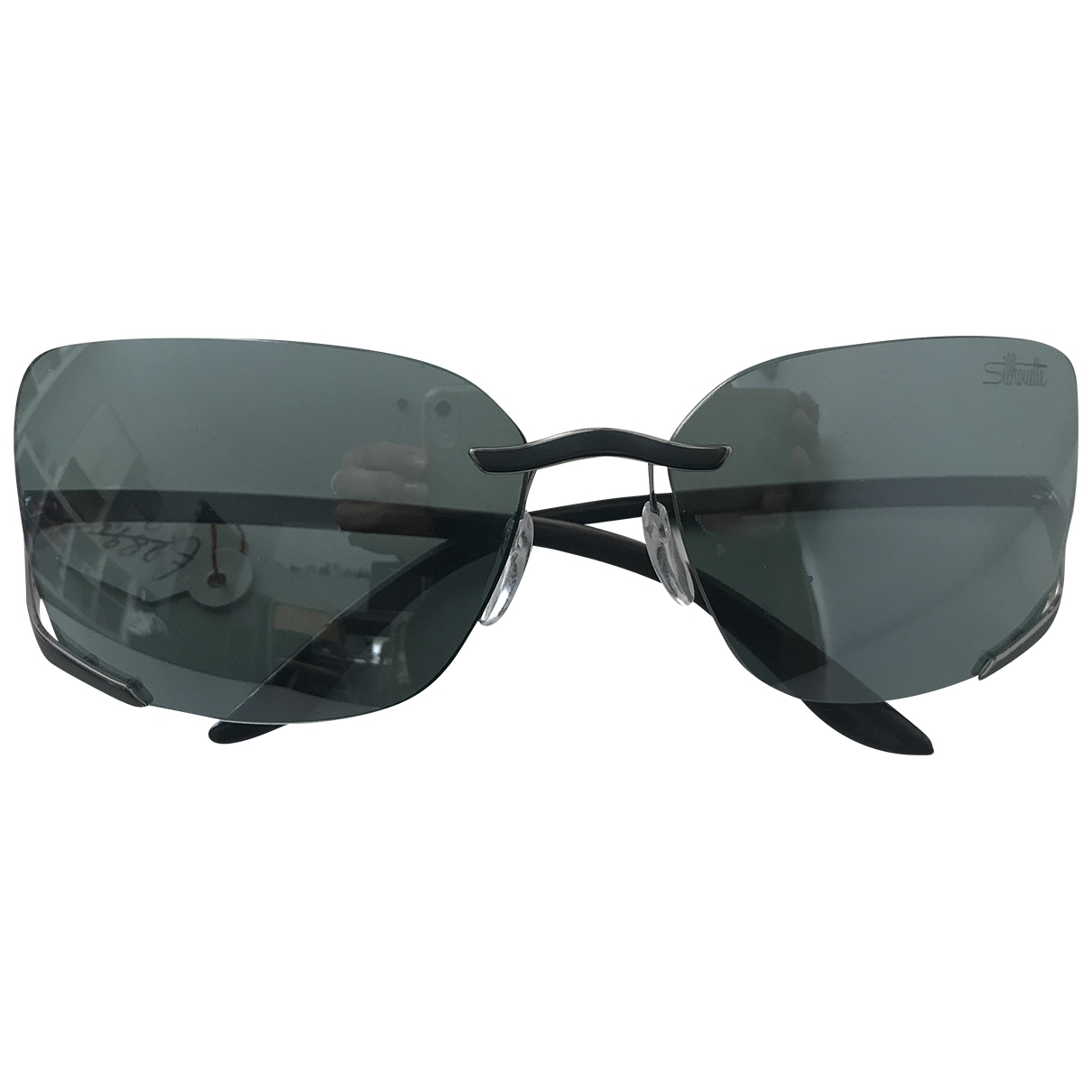 Silhouette \N Anthracite Metal Sunglasses for Women \N