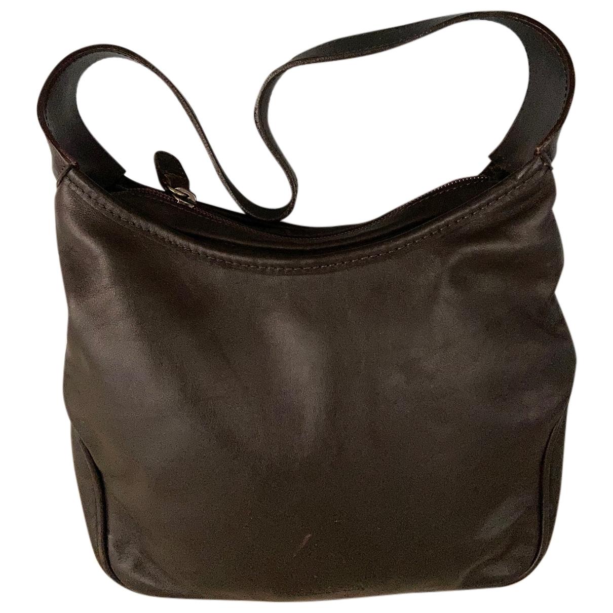 Max & Co \N Brown Leather handbag for Women \N