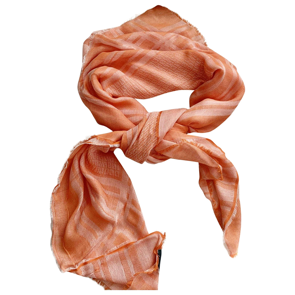Fendi \N Schal in  Orange Viskose