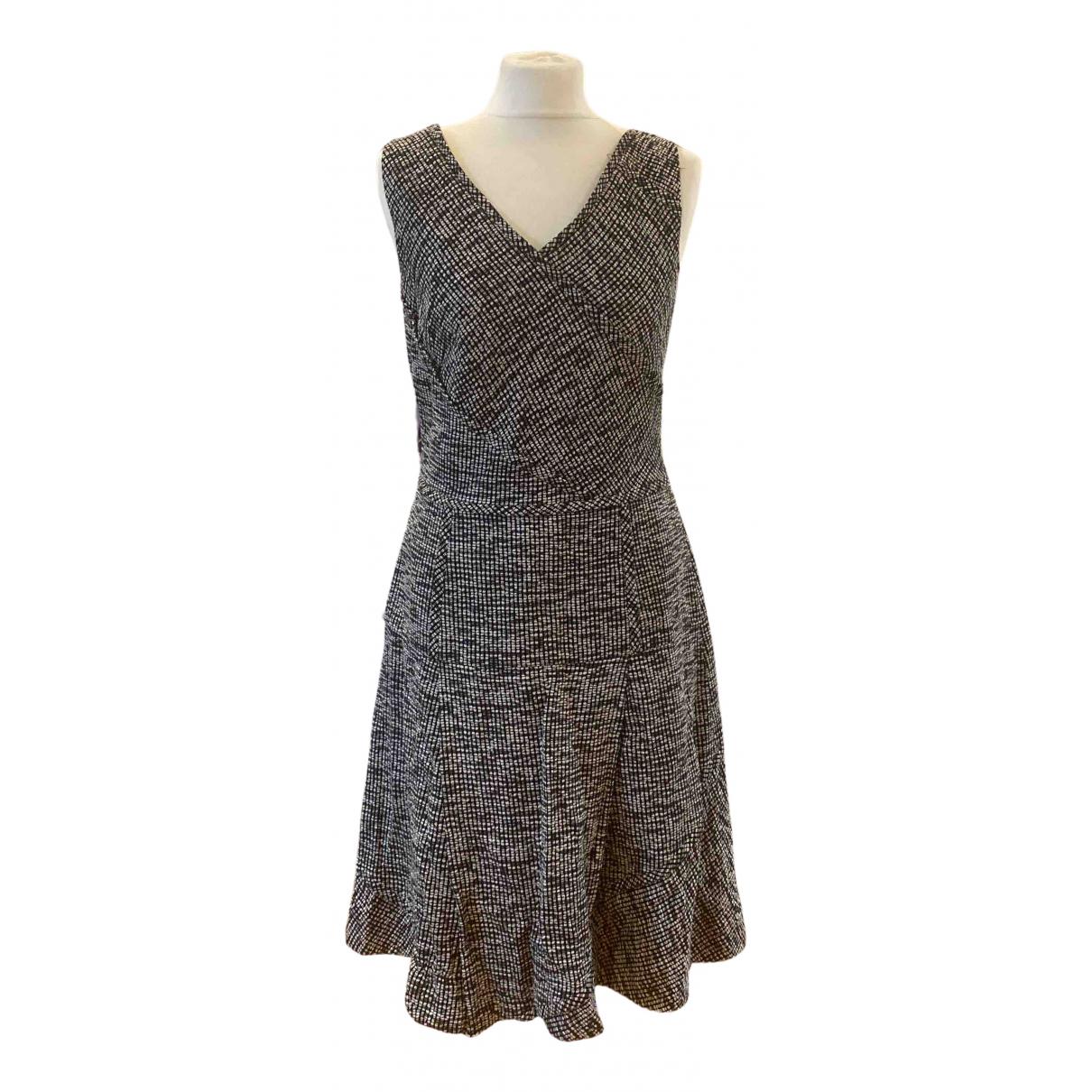 Oscar De La Renta \N Kleid in  Schwarz Tweed