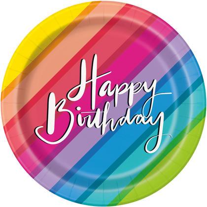 Balloons & Rainbow Birthday Round 7