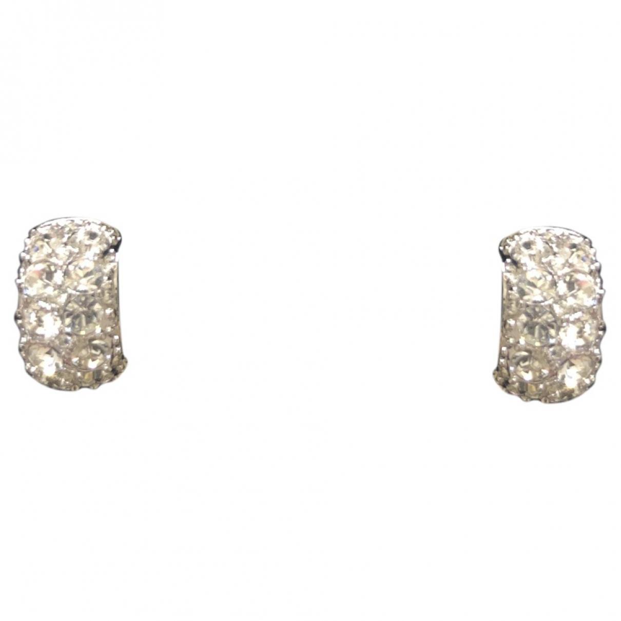 Swarovski - Boucles doreilles   pour femme en metal - metallise