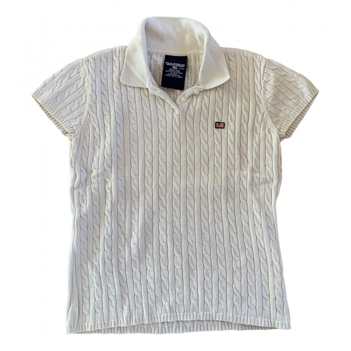Polo Ralph Lauren \N Pullover in  Weiss Baumwolle