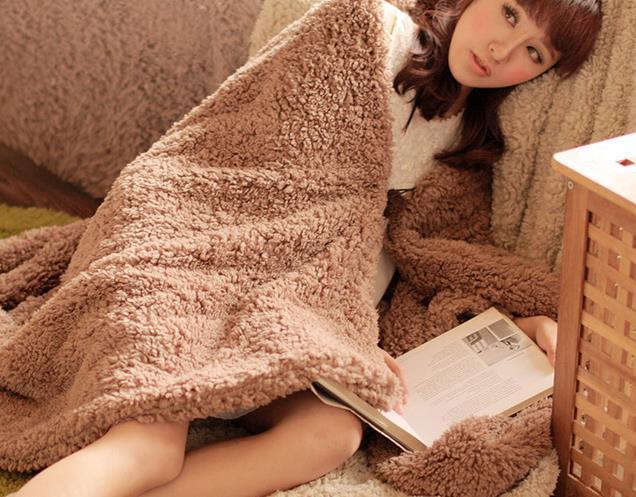 Berber Fleece Sweet Warm Blanket