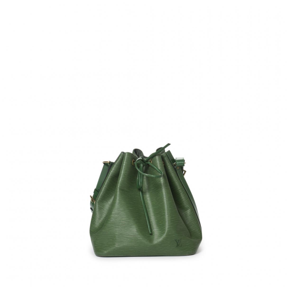 Louis Vuitton - Sac a main Noe pour femme en cuir - vert