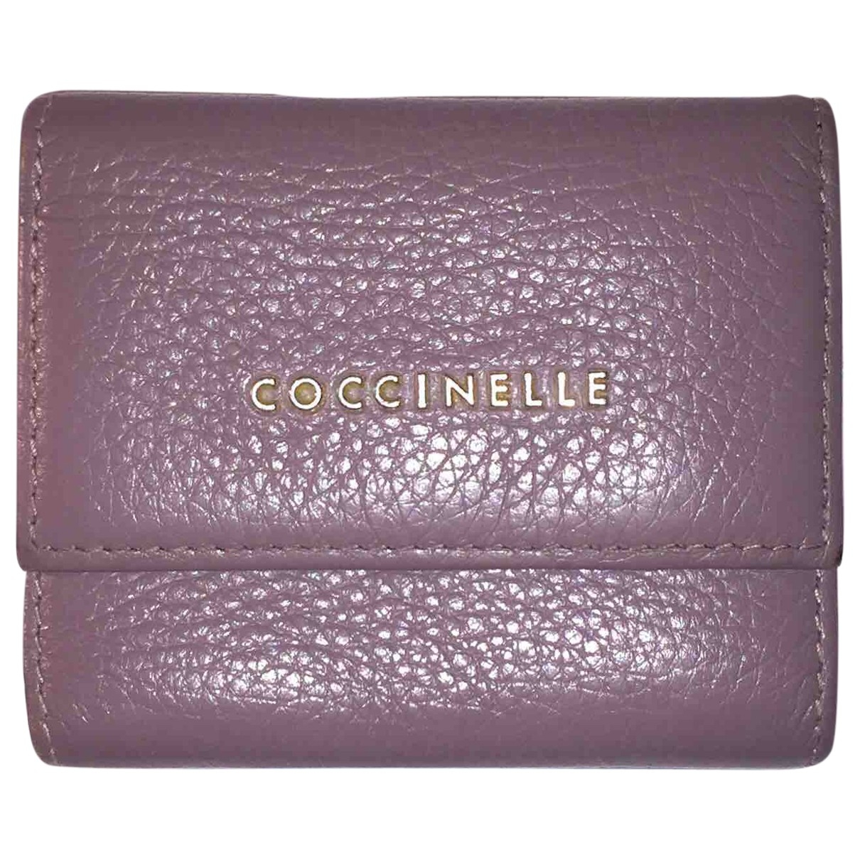 Coccinelle - Portefeuille   pour femme en cuir verni