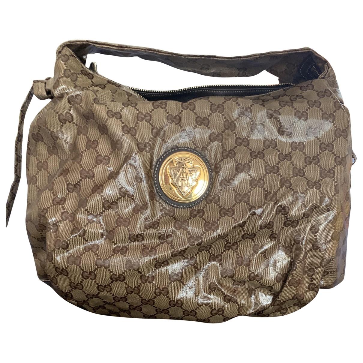 Gucci - Sac a main Hysteria pour femme en toile - beige