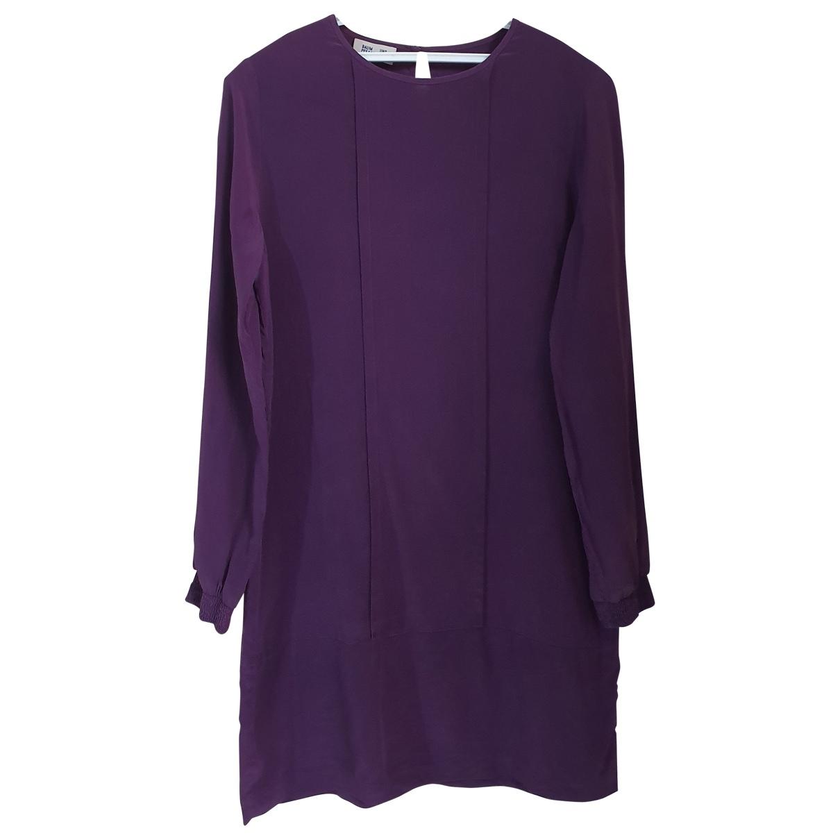Baum Und Pferdgarten - Robe   pour femme en soie - violet