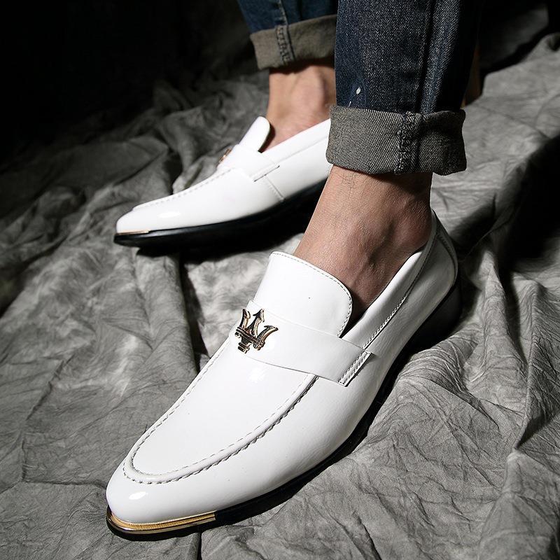 Ericdress Plain Slip-On Round Toe Loafers For Men