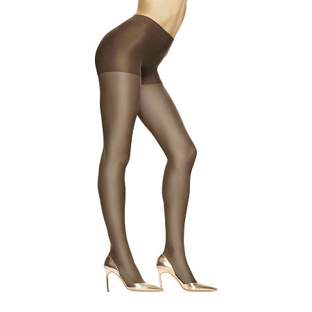 Hanes Absolutely Ultra-Sheer Control-Top Pantyhose - Queen, Plus 1 , Brown