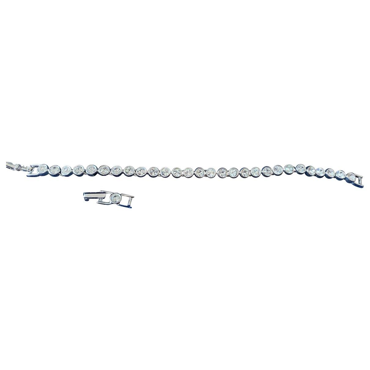 Swarovski \N Silver Crystal bracelet for Women \N