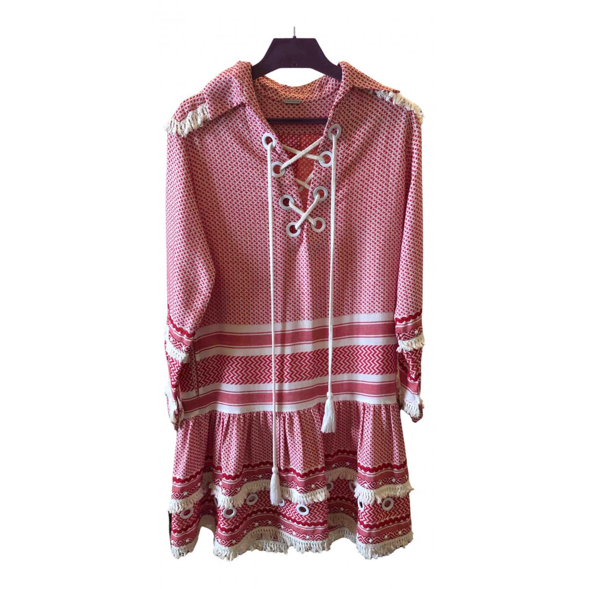 Dodo Bar Or \N Kleid in  Rot Baumwolle