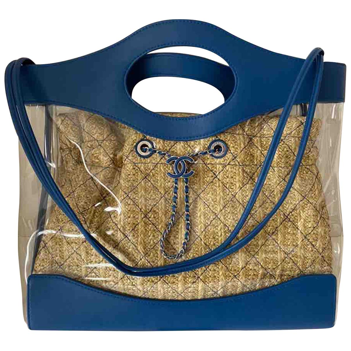 Chanel - Sac a main 31 pour femme - bleu