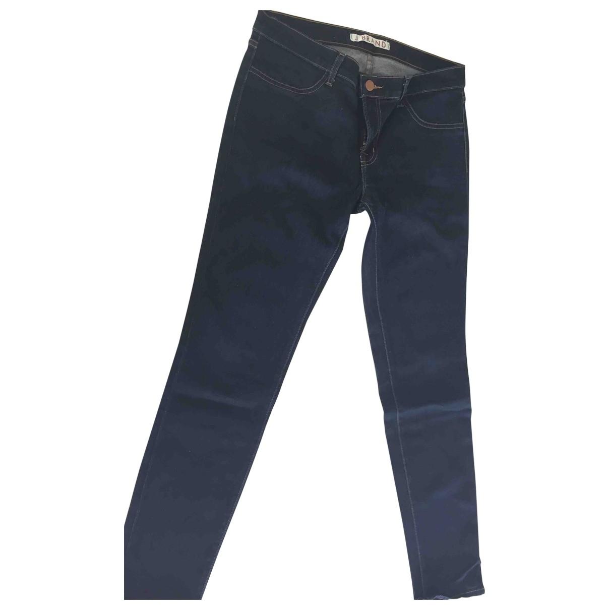 J Brand \N Blue Cotton - elasthane Jeans for Women 31 US