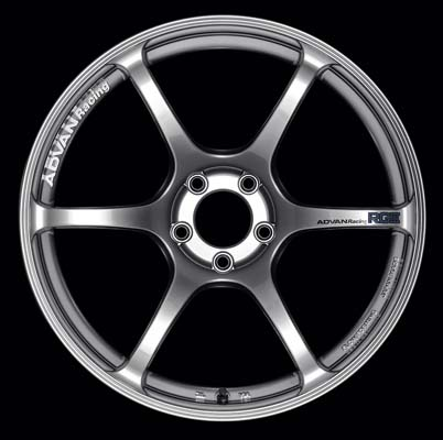 Advan RGIII Wheel 19x9 5x114.3 25mm Hyper Black