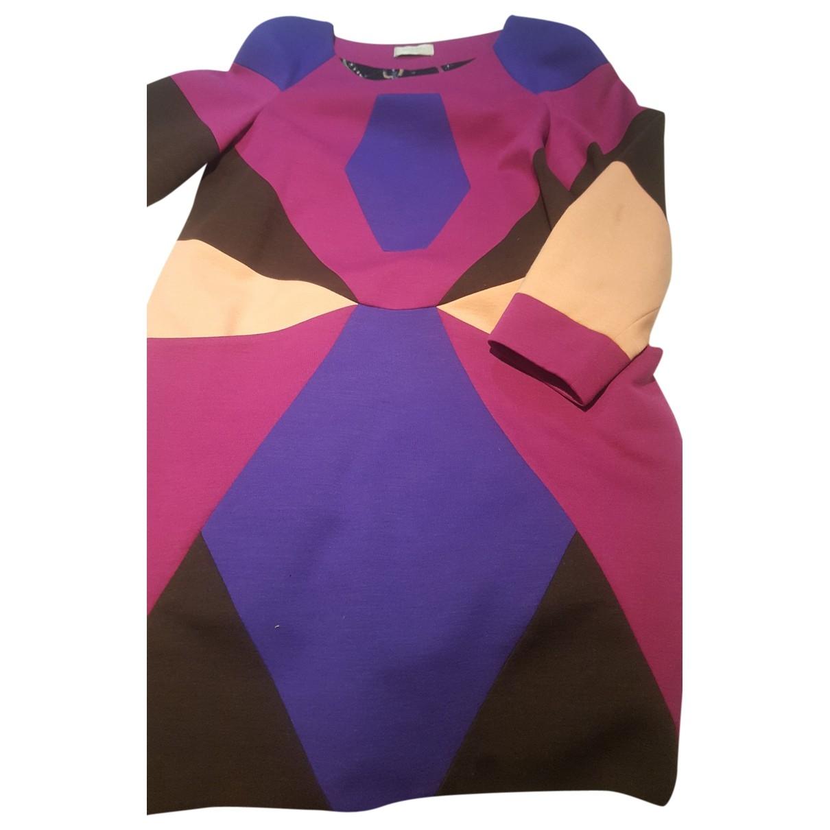Emilio Pucci - Robe   pour femme en laine - multicolore