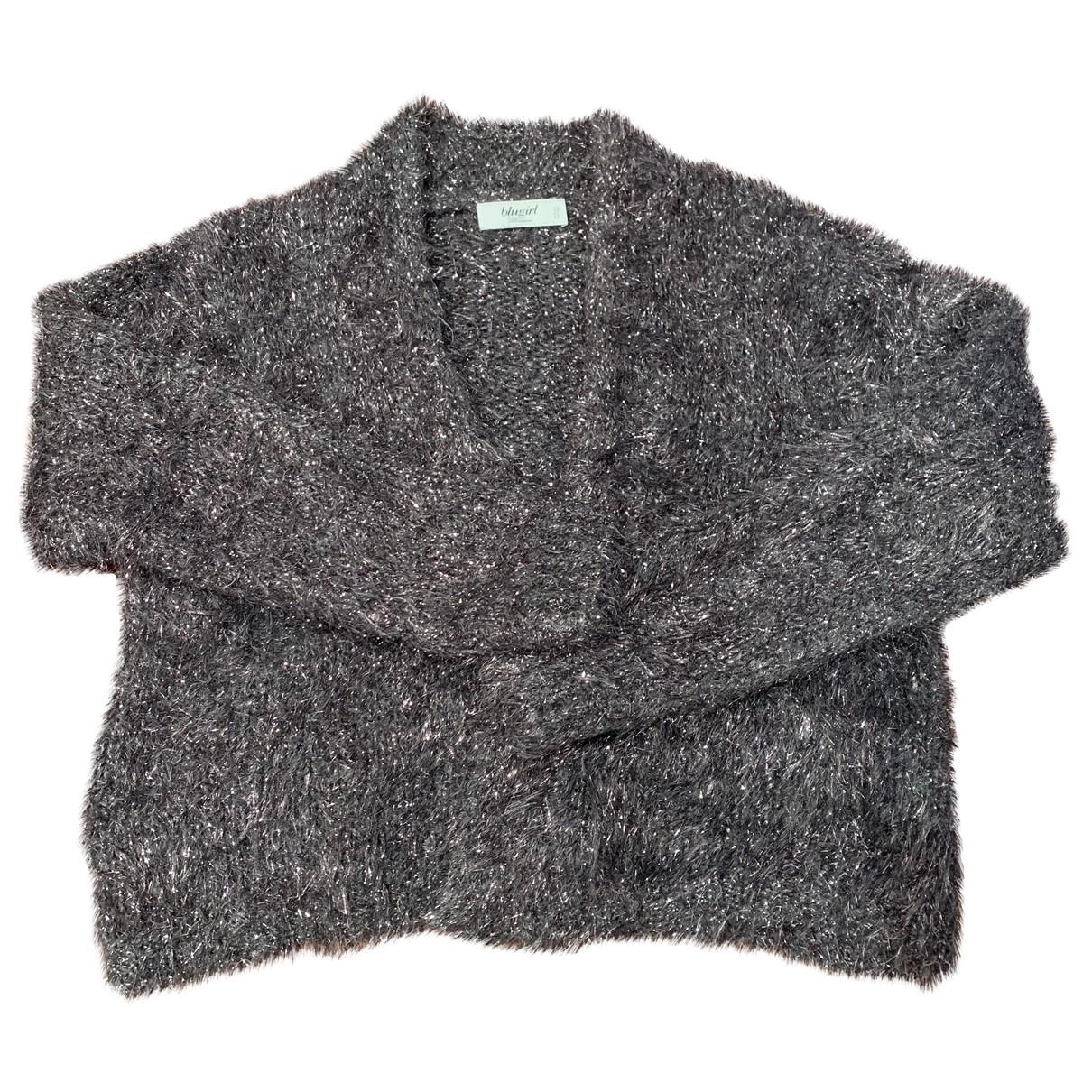 Blumarine \N Pullover in  Silber Wolle
