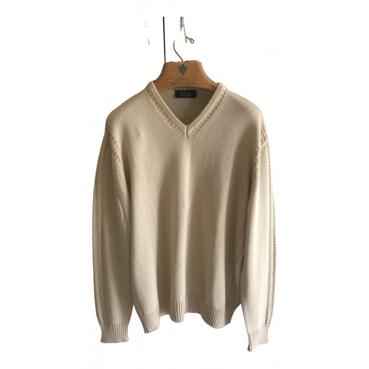 Versace - Pulls.Gilets.Sweats   pour homme - beige