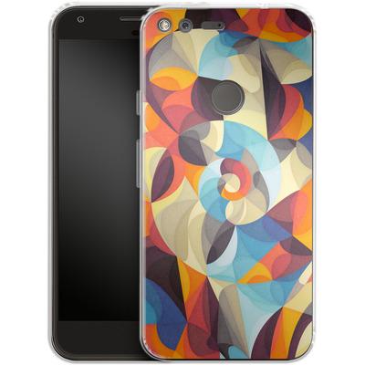 Google Pixel XL Silikon Handyhuelle - Colour Power von Georgiana Teseleanu