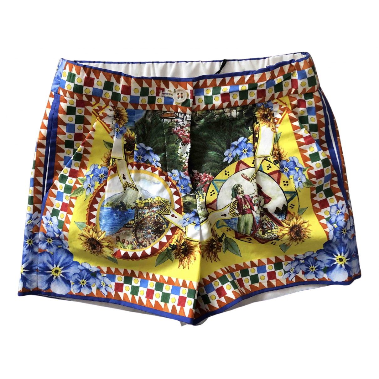 Dolce & Gabbana \N Multicolour Cotton Shorts for Kids 6 months - up to 67cm FR