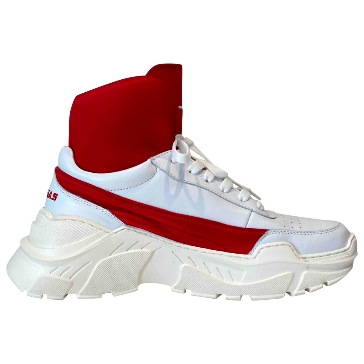 Joshua Sanders \N Sneakers in  Weiss Leder