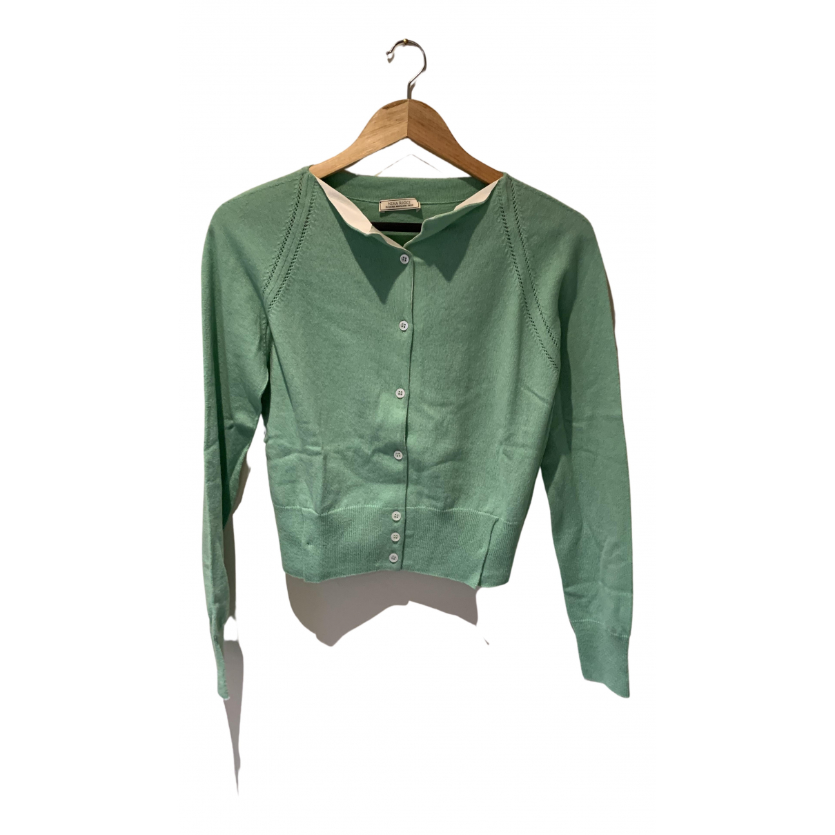 Nina Ricci - Pull   pour femme en cachemire - vert