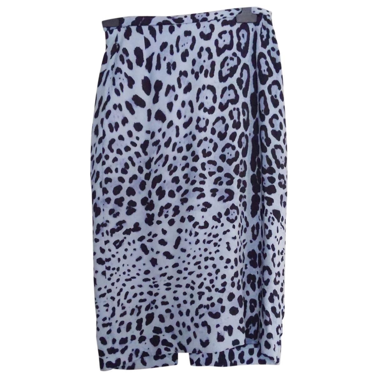 Emilia Wickstead \N Blue Silk skirt for Women 10 UK