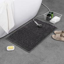1 pieza alfombra de piso unicolor