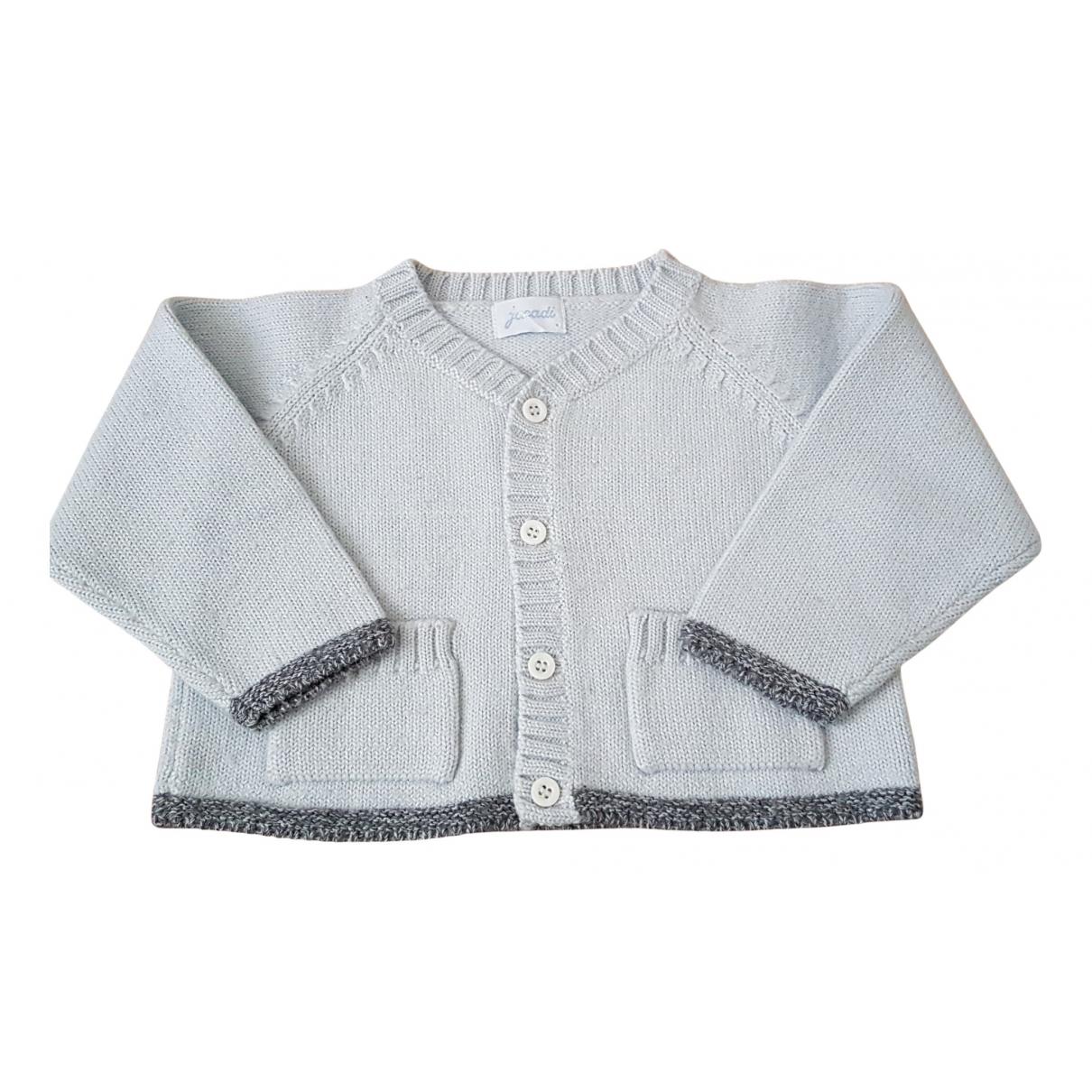 Jacadi - Pull   pour enfant en laine - bleu