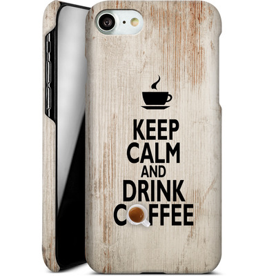Apple iPhone 8 Smartphone Huelle - Drink Coffee von caseable Designs