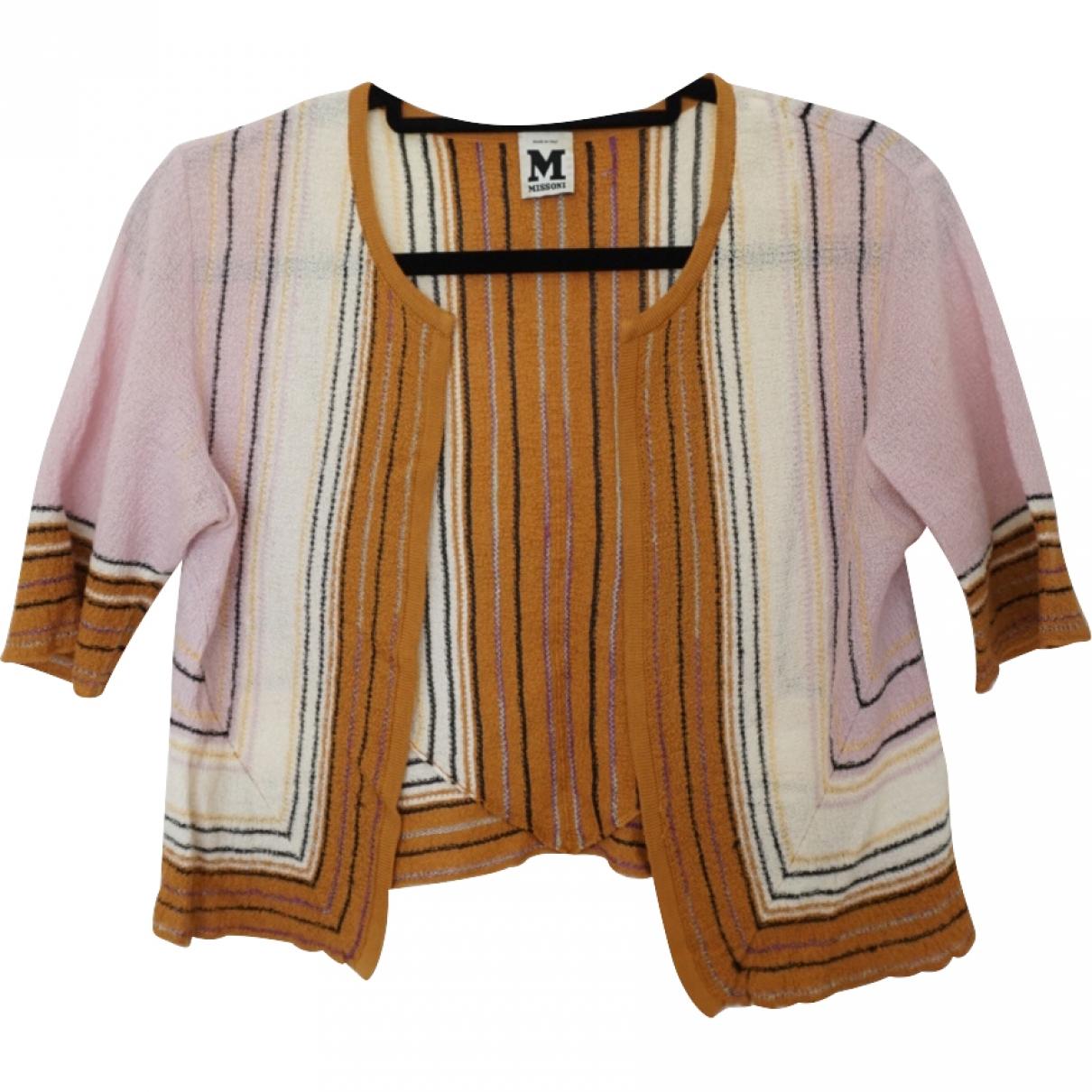 M Missoni \N Pullover in  Rosa Baumwolle