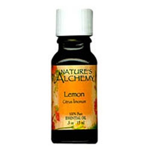 Pure Essential Oil Lemon 0.5 Oz by Natures Alchemy