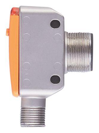 ifm electronic Ultrasonic Sensor Block M18 x 1, 60 → 800 mm, Analogue, PNP-NO/NC, M12 - 4 Pin IP67
