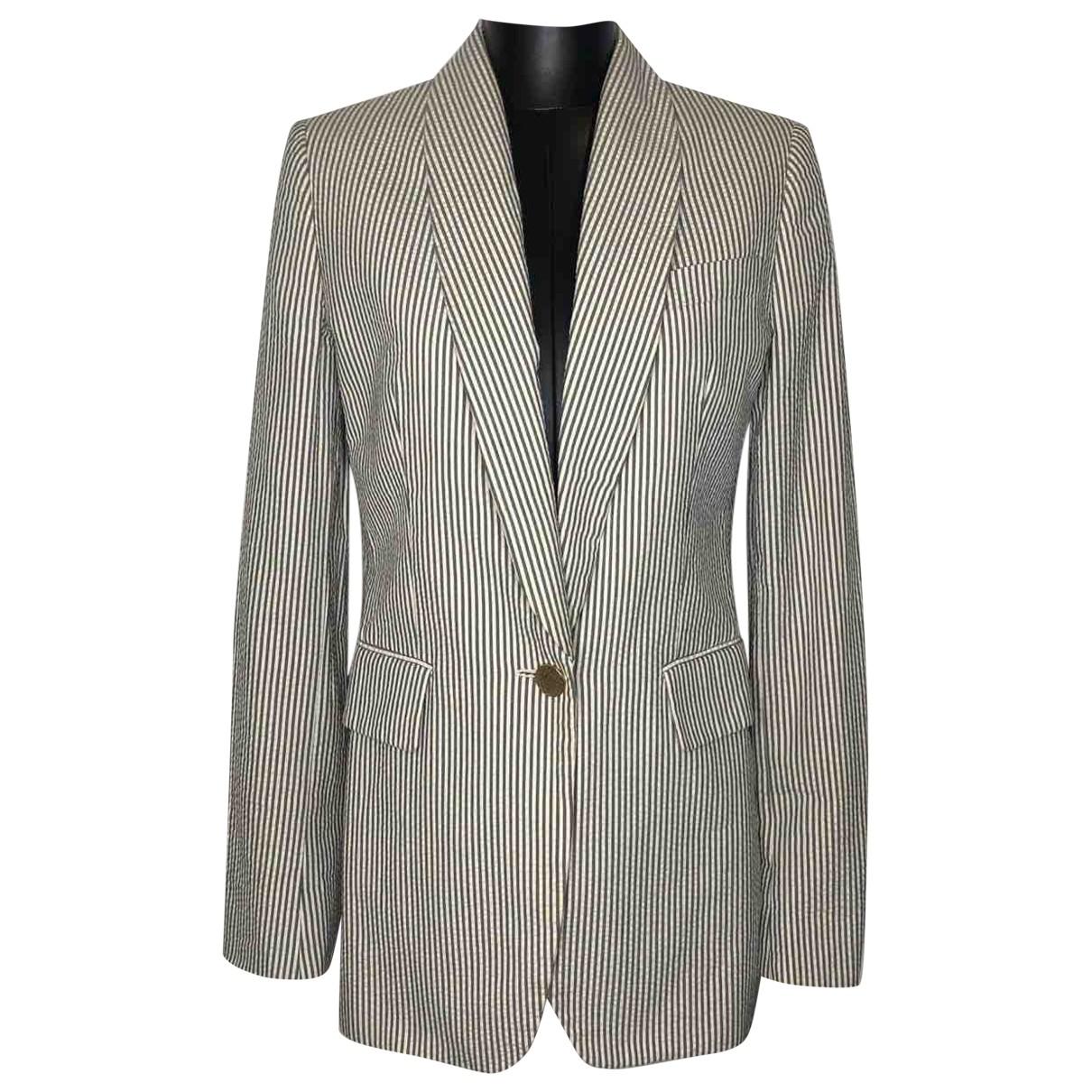 Stella Mccartney \N Grey Cotton jacket for Women 40 IT