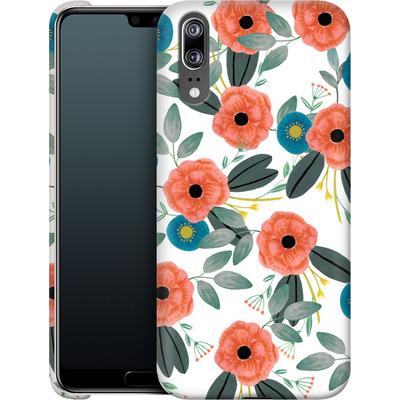 Huawei P20 Smartphone Huelle - Poppy Dream von Iisa Monttinen